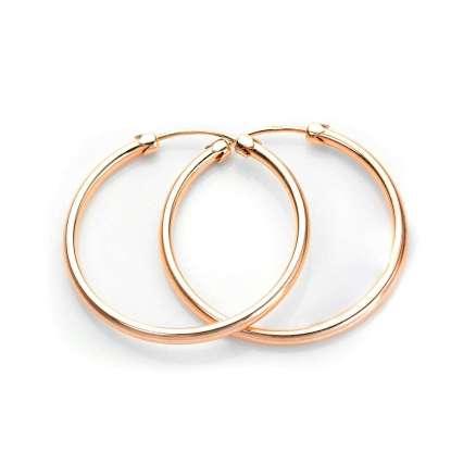 ADA-119-HOOP-26MM_9ct_Rose_Gold_26mm_Plain_Capped_Tube_Hoop_Earrings
